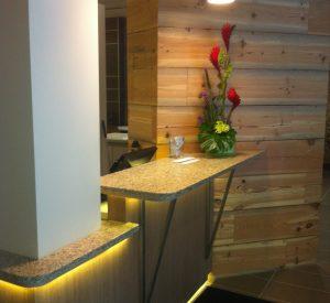 CityVu Hotel Reception tops
