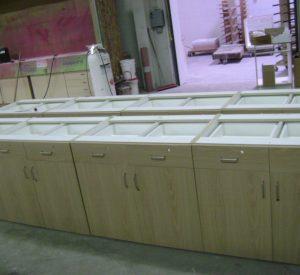 S3 Enterprise group cabinets, countertops,reception desks, conference tables